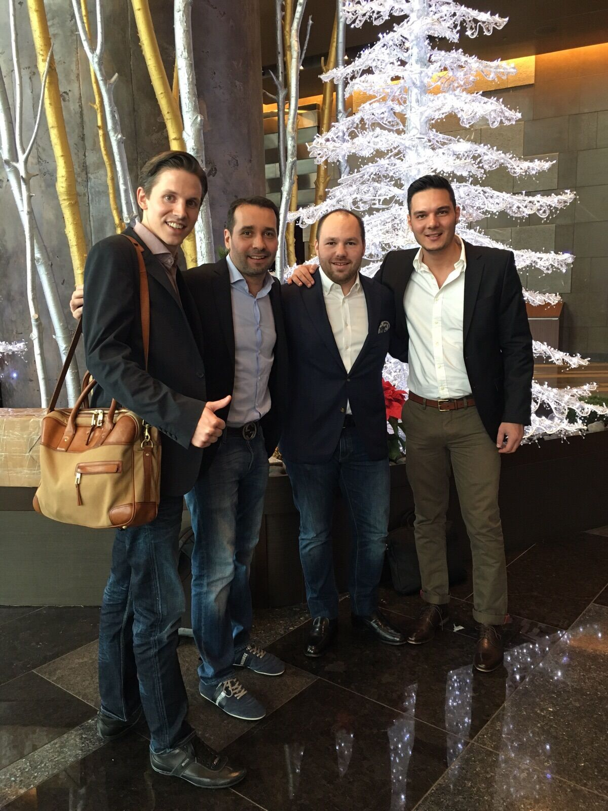 our team at the Expedia conference included Johannes Thomas, Jose Murta, Sergio Gutierrez, and Ioannis Savvidis