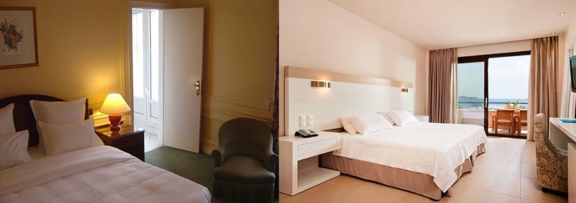 Une photo avec une lumiere de mauvaise qualite rend la chambre petite et peu attirante pour les voyageurs.