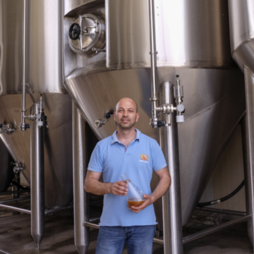 beer selection from Corfu Beer