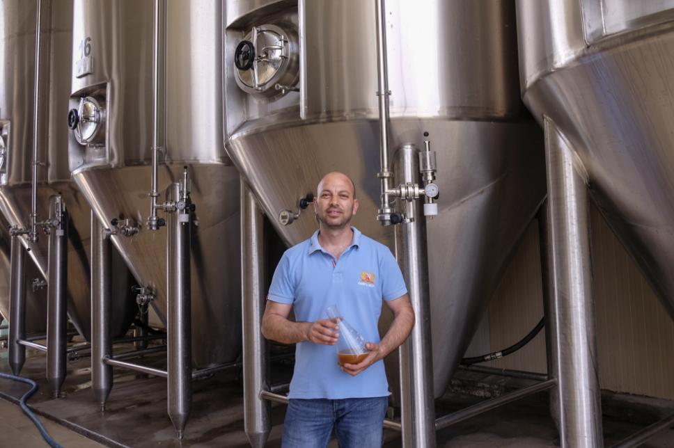 Selezione di birre di Corfu Beer