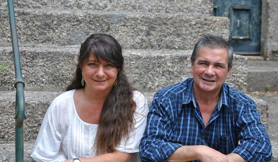 Inês and José Maria, Besitzer des Casa do Outeiro Tuias, Portugal