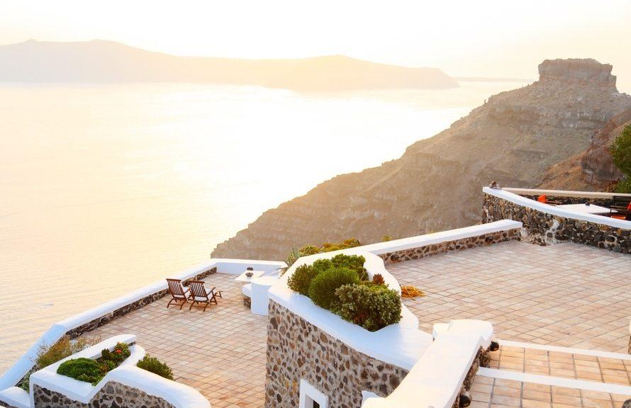 Ένα Ελληνικό ξενοδοχείο στο Αιγαίο