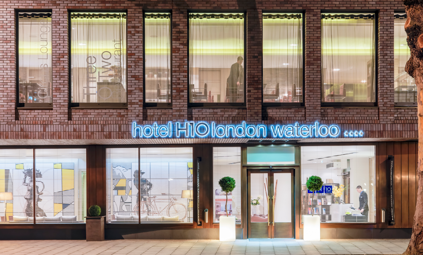 The exterior of H10 London Waterloo