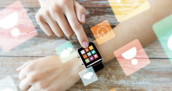 a smart watch with apps