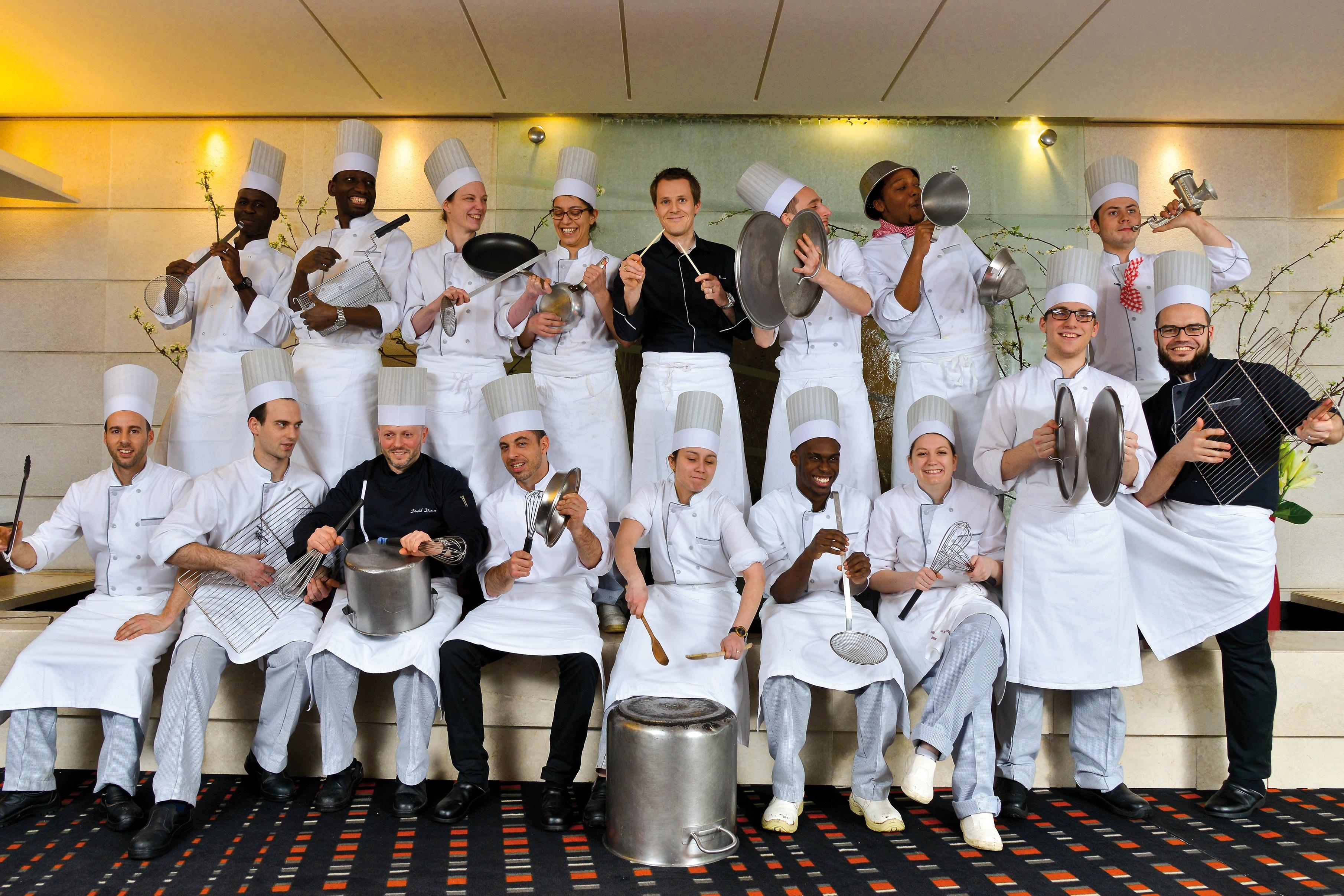 L'équipe du Pullman Bercy Centre fait son show en cuisine
