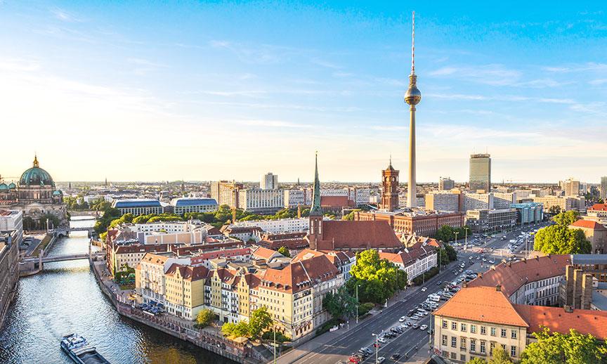 Skyline au ITB Berlin