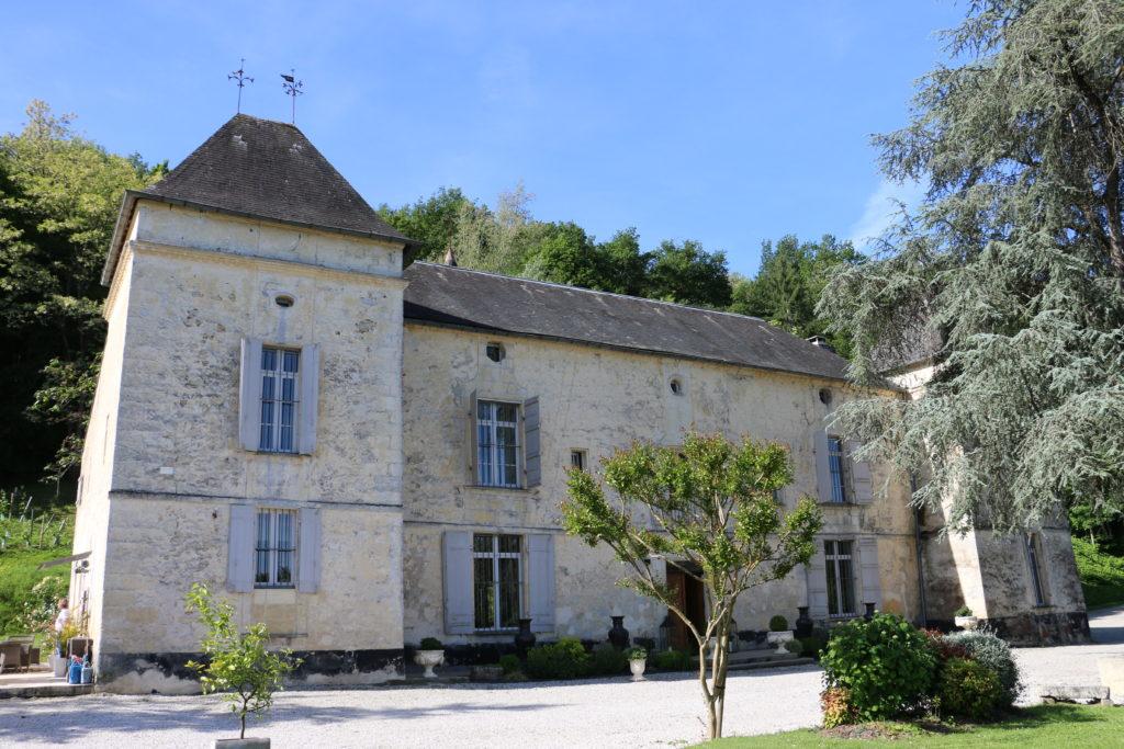 Façade du Château de Courtebotte