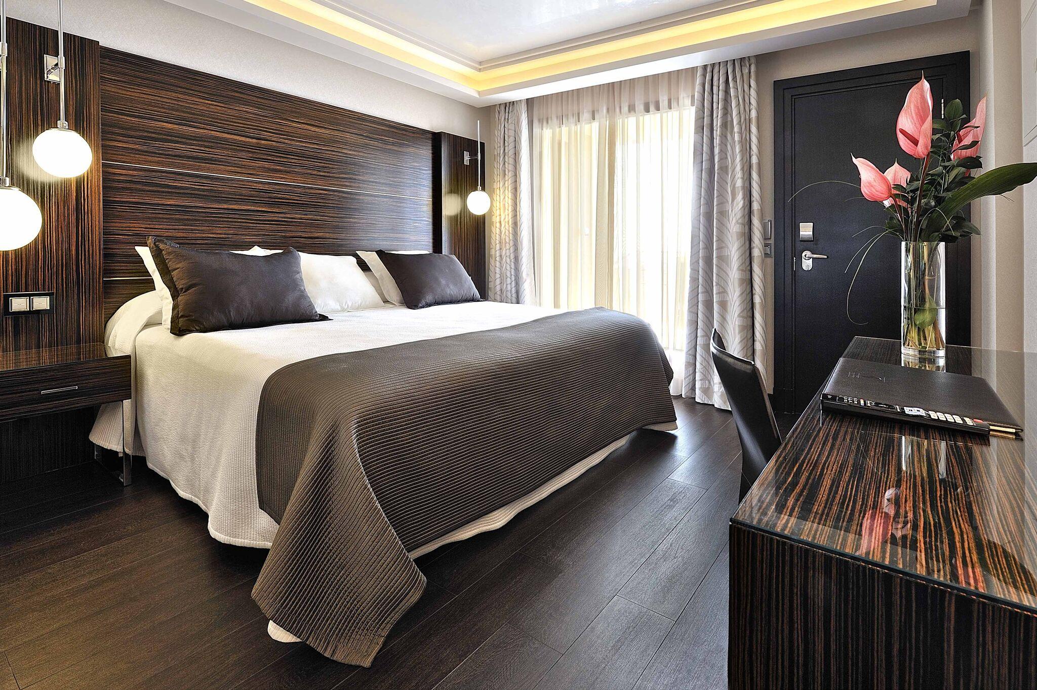 Habitación del hotel Vincci Seleccion Aleysa