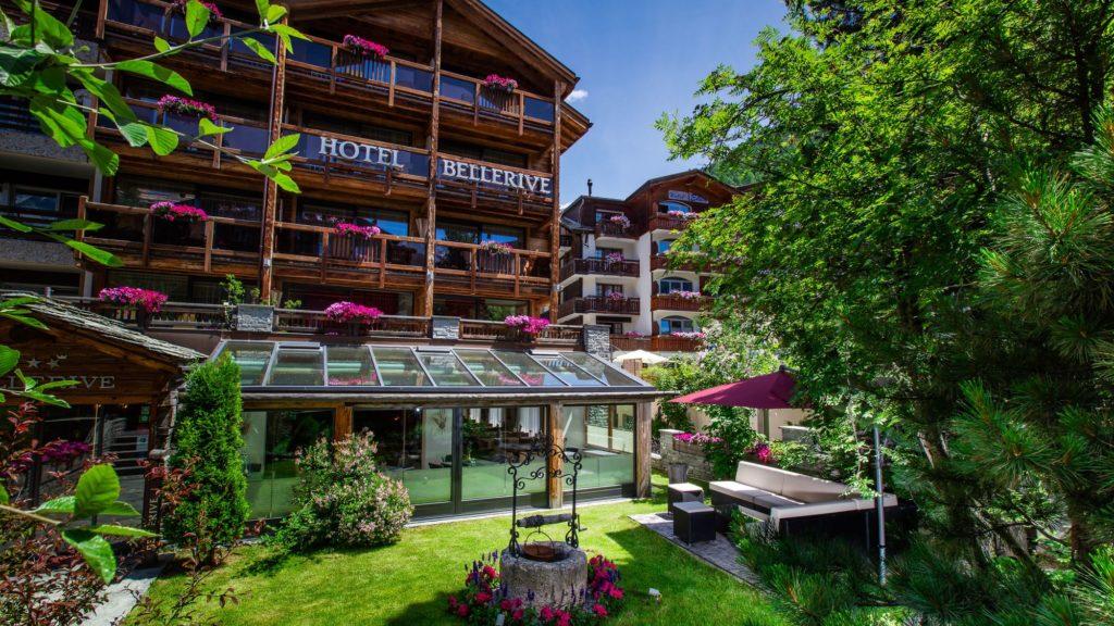 Außenansicht Hotel Bellerive