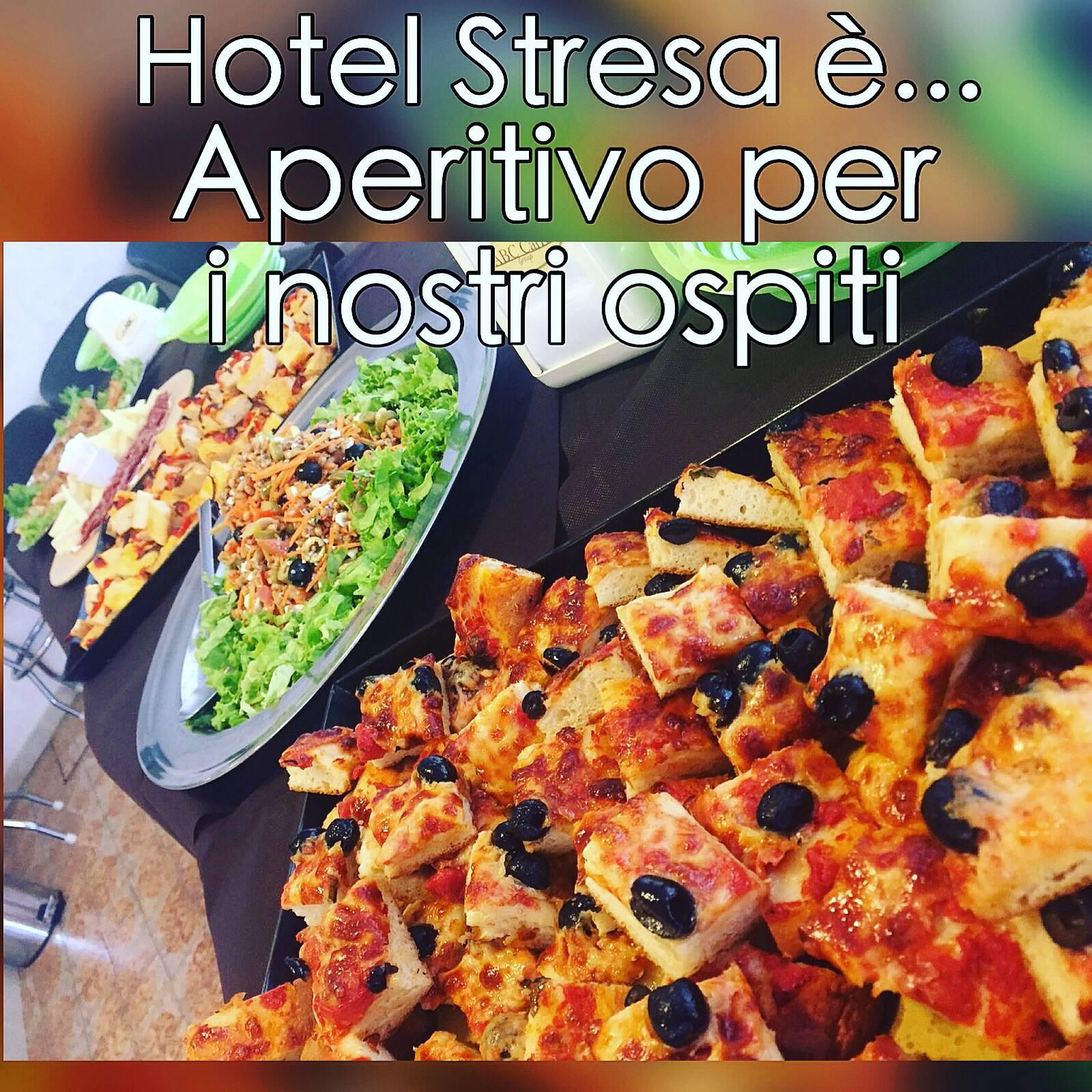 Aperitivo all'hotel Stresa di Rimini