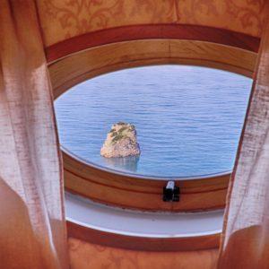 Vista mare da una delle camere di Villa Ketty