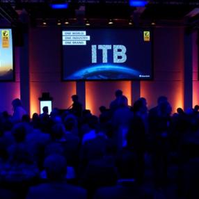 Il palco principale dell'ITB di Berlino