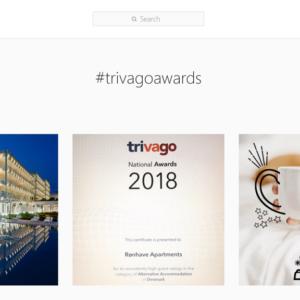 Una selezione di foto dei #trivagoAwards su Instagram