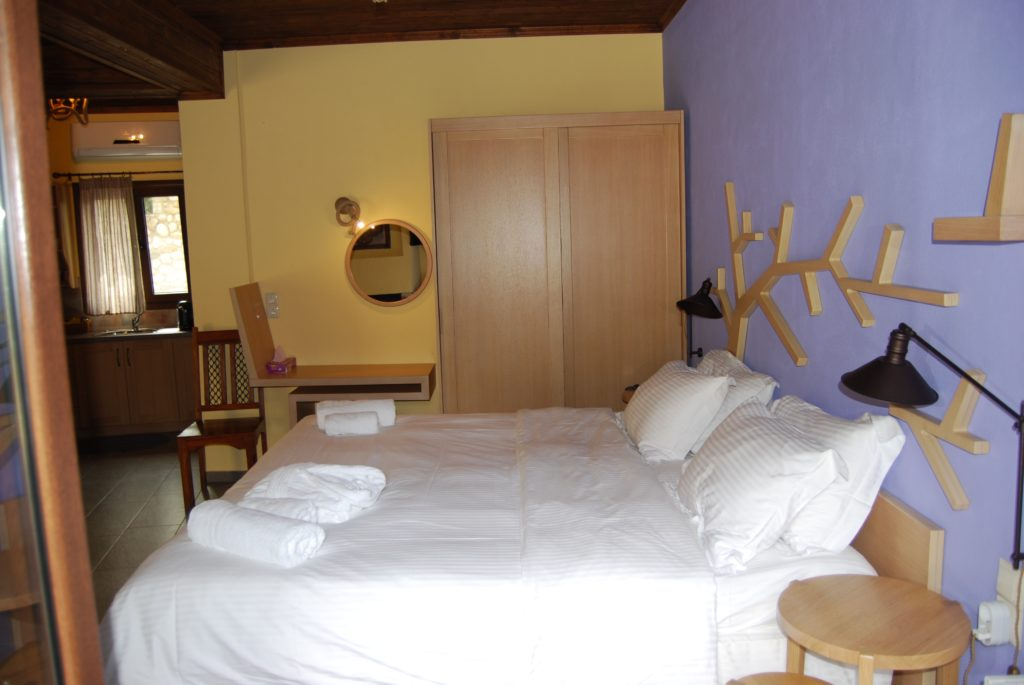 Δωμάτιο του καταλύματος Hotel Pyrgos Adrachri