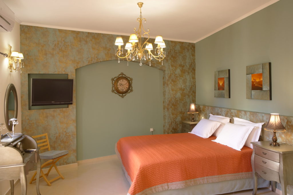 Δωμάτιο του καταλύματος Casa Moazzo