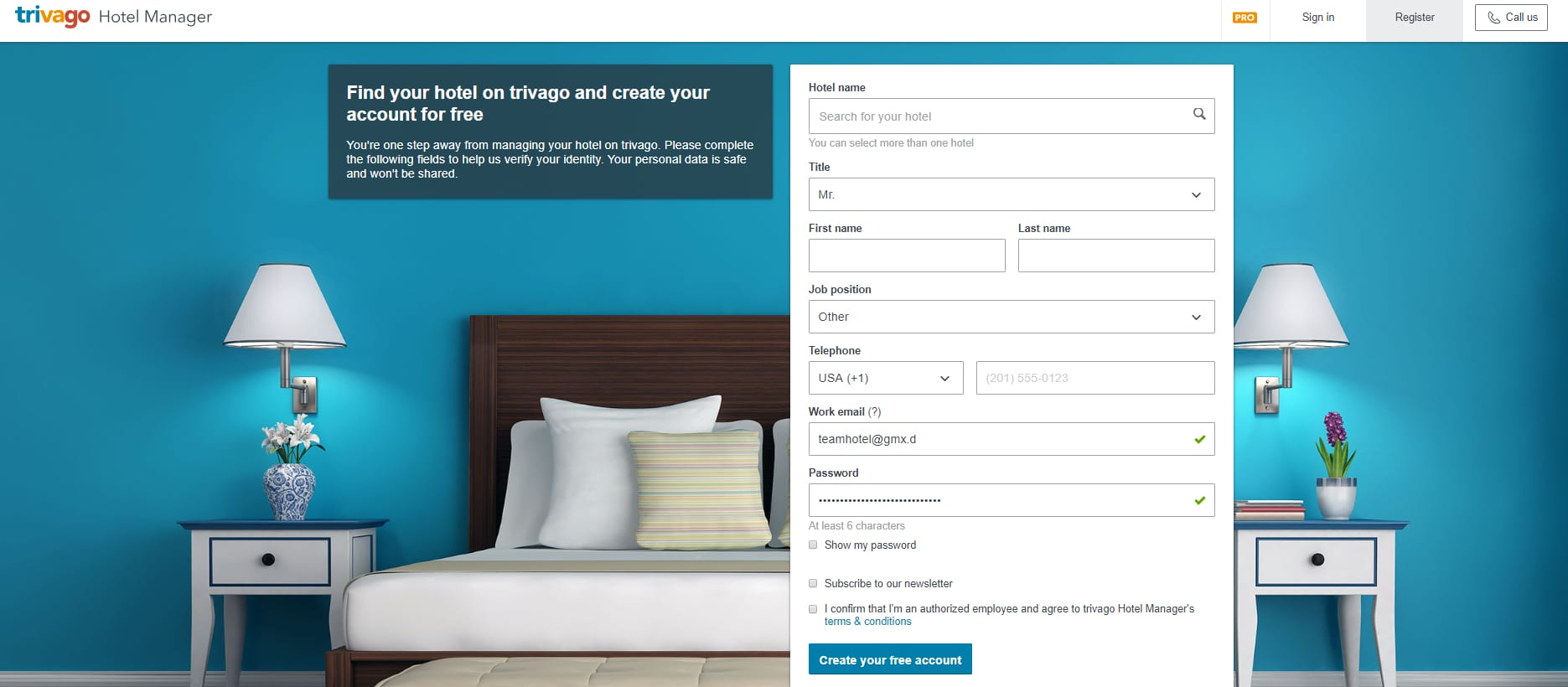 How to add your hotel to trivago