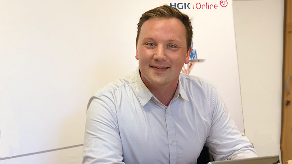 Foto von Jan Suwalski Online Marketing Manager der HGK