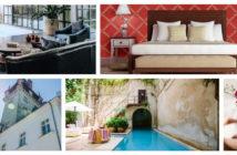 Auswahl von Bildern aus Artikeln zur Hotelbranche 2018