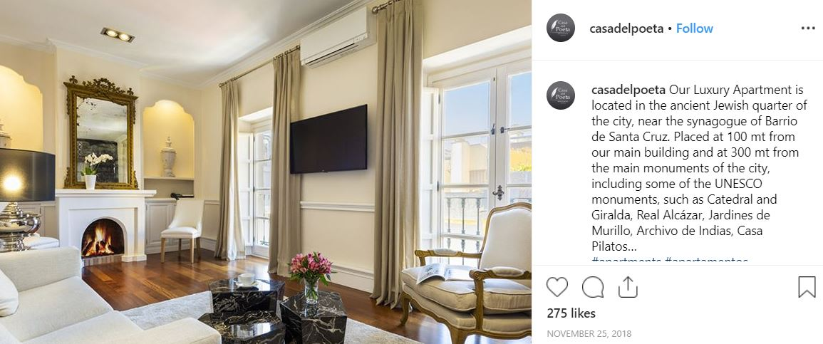 Instagram for independent properties property photo