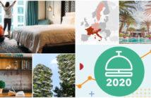 Un photomontage du secteur hôtelier