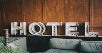 Inneneinrichtung eines Hotels